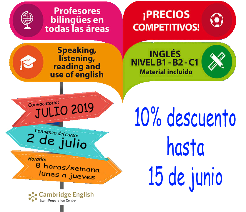oferta normal cambridge 15 J 10 descuento big ben centre academia de idiomas y traduccion albacete oferta cambridge 15 junio bigbencentre.com